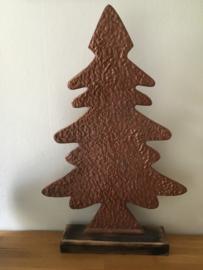 kerstboom hand gemaakt  kleur  brons  102 cm