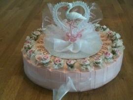 spenen taart roze