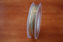 lint stof goud smal per rol