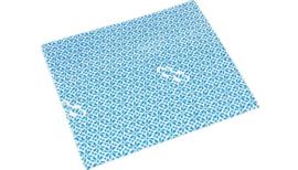 Wipro onderhoudsdoek blauw 42 x 36 cm per stuk