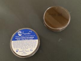 aqua compact schmink face en body paint kleur bruin