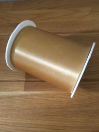 lint op rol wide satin gold 3 meter x 100 mm