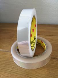 rol lint plastic doorzichtig 20 mm 100 meter