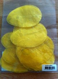 pasen paas versiering koord met eieren kleur geel