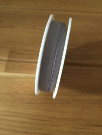 lint op rol grijs 2.5 meter x 16 mm