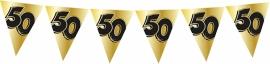 vlaggenlijn goud 50