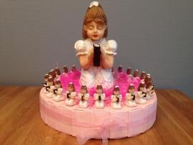 communie taart meisje groot