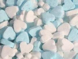 pepermunt hart blauw wit 250 gram
