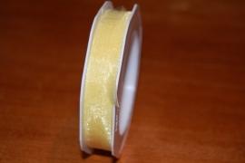lint organza geel 20 mtr per rol