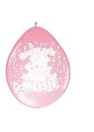 ballonnen meisje roze