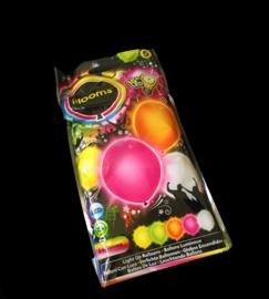 illooms LED ballonnen kleur gemengd set van 5 stuks