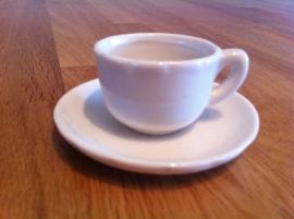koffiekopje en schoteltje prijs per stuk