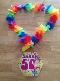 sarah feest krans 50 jaar