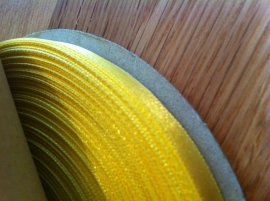 lint per rol 50 meter geel