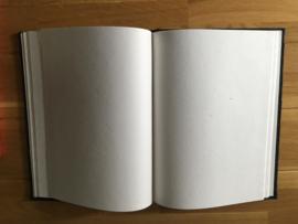 receptieboek suede ae 527 kleur zwart
