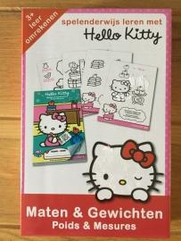 Hello Kitty maten en gewichten
