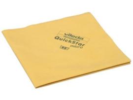 Vileda Microvezeldoek Quickstar Micro geel per stuk