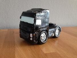 truck vrachtauto spaarpot kleur zwart