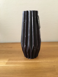 Gusta Kaars 19,3 cm kleur zwart