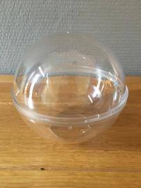 doorzichtige bal met ophang mogelijkheid