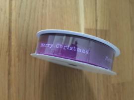 rol op lint merry christmas 5 meter x 13 mm