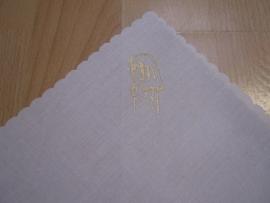 pochet zakdoek communie meisje prijs per stuk