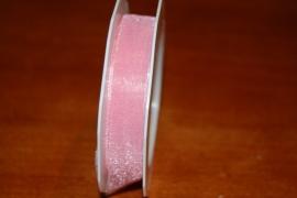 lint organza roze prijs 20 mtr per rol