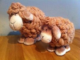 schaap schapen als set samen