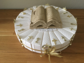 communie boek taart