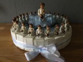 communie taart jongen