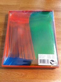 sorbetlepels aantal 100 stuks gekleurd