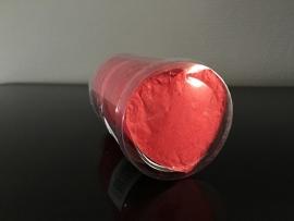 hartjes confetti kleur rood