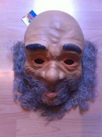 masker abraham of feest masker met baard