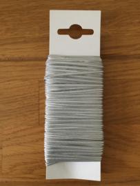 lint grijs elastisch 20 meter