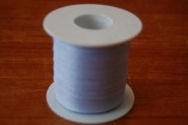 lint stof 20 mtr licht blauw per rol