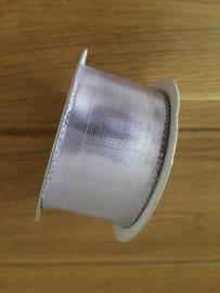 lint op rol lila  2 meter x 38 mm