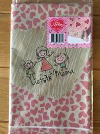 moederdag tafelkleed plastic