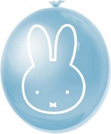 nijntje ballonnen jongen blauw
