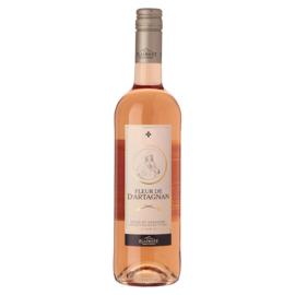 fles Fleur d'artagnan rose 75 cl