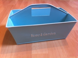 home en garden bakje blauw