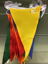 vlaggenlijn assortie 10 meter nylon