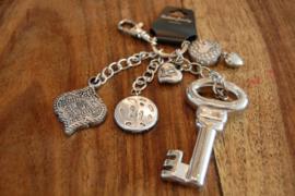 sleutelhanger met sleutel
