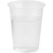 plastic limonade beker 200 cc (verpakking 50 stuks)