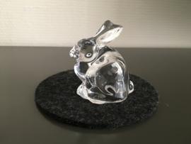 Leonarde glazen haas Nido 7 cm