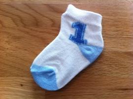 baby sokjes nr 1  0-12 mnd