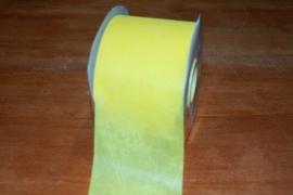 strik tule lint geel per meter