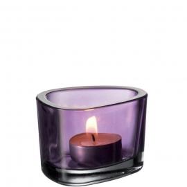 Leonardo Organic Waxinelichthouder kleur Lila