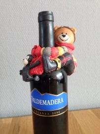 wijnfleshouder beer aap 48 stuks