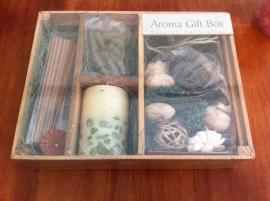 Aroma gift box a kleur groen