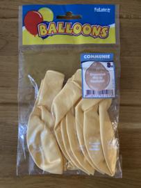communie ballonnen geel gefeliciteerd met je communie